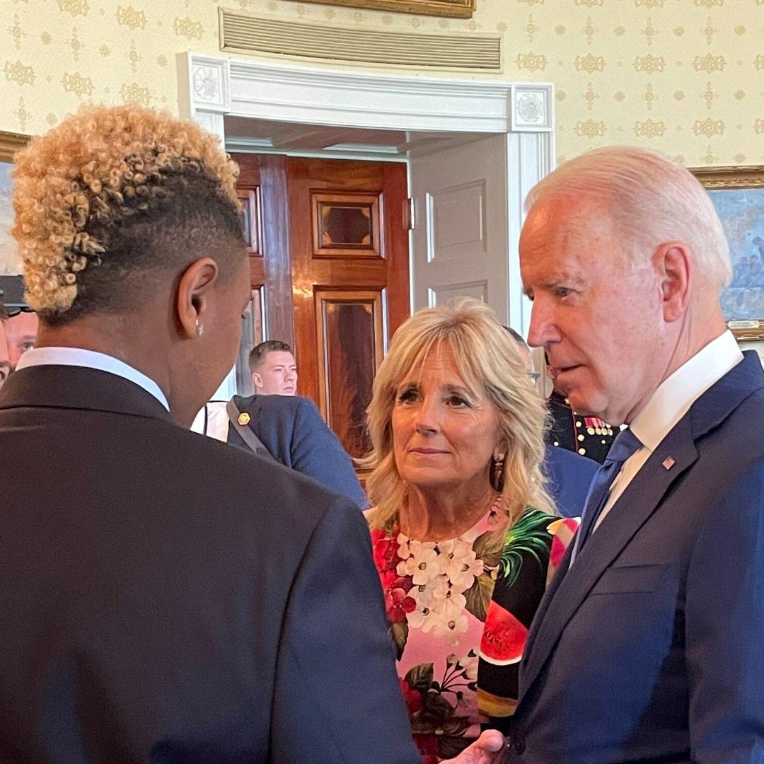 Ashton and President Biden & the First Lady