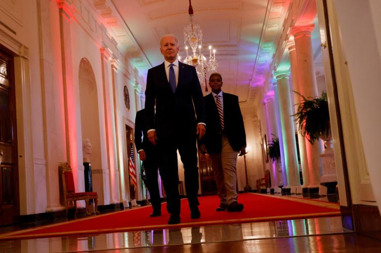 President Biden and Champion Ashton (he/him)